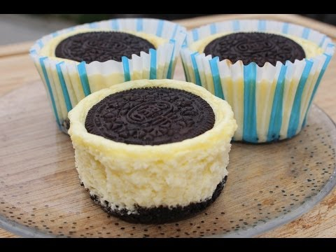 How to Make Mini Oreo Cheese Cake