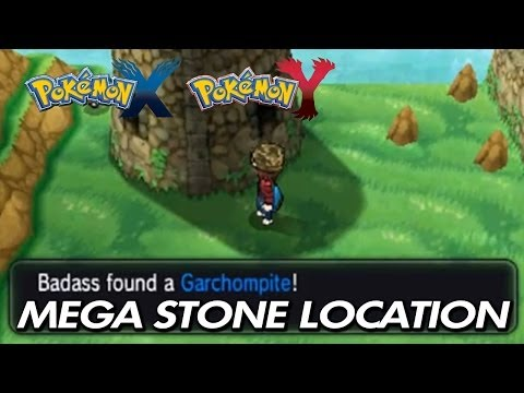 Pokemon X & Y - Where To Find Garchompite / Location