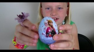 Frozen Surprise Eggs!!