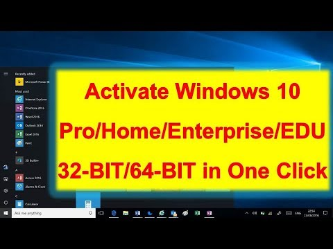 How to Activate any Windows 10 for free using Activator Script