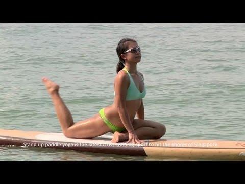 Paddleboard Yoga - Where zen meets sport