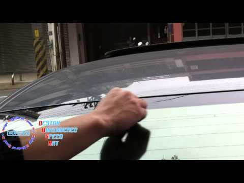 Roof Spoiler Installation Guide - direct by DUSA