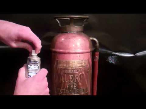Antique Fire Extinguisher Restoration.
