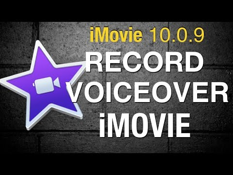 Record a Voiceover in iMovie 10 - 2015