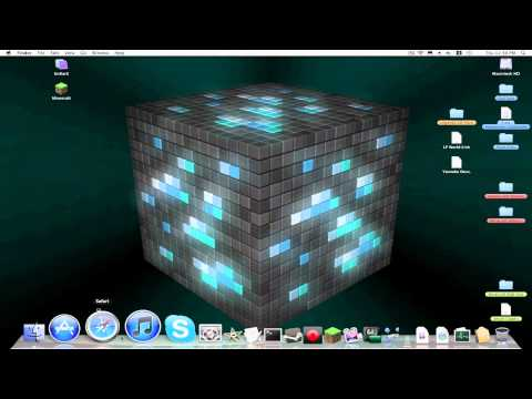 Minecraft Mac Tutorial- Downloading and Installing Adventure Maps