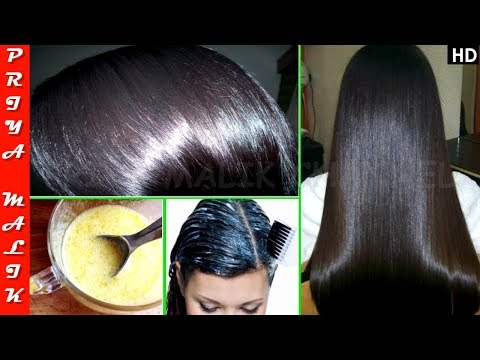 Use this only 30 min. and Get Super Silky Shiny Hair Naturally | Priya Malik