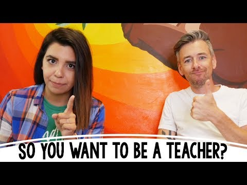 So You Want To Be A Teacher? ~ With Real Rap with the Reynolds