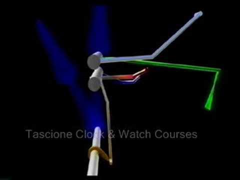 Clock Repair Count Wheel Strike Animation