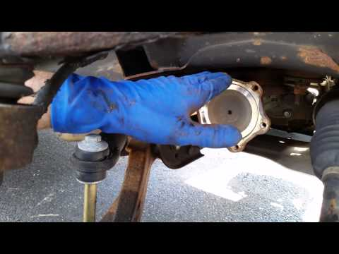 07 GMC Denali front axle replacement