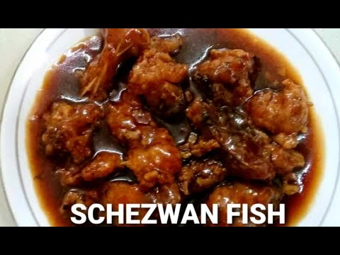 Schezwan fish | schezwan fish gravy | schezwan fish curry