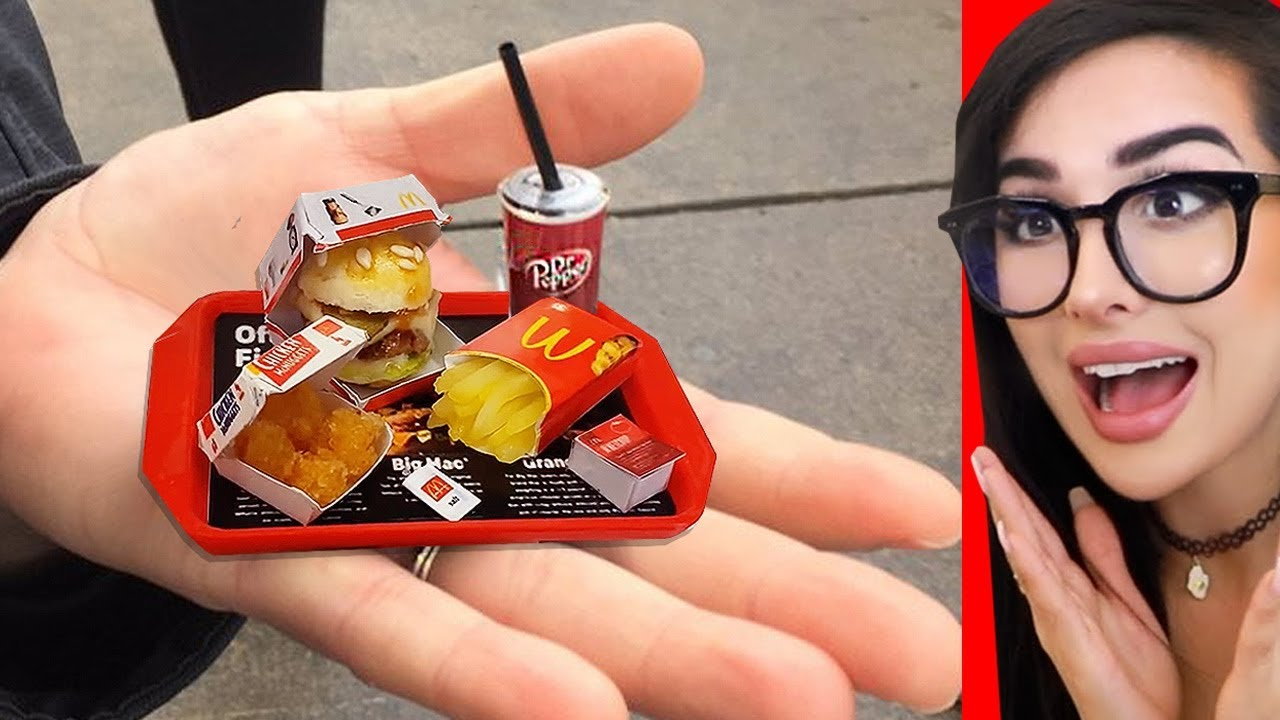 Real MINIATURE Food and Tiny Cooking You Can Eat