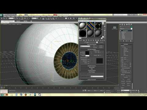 How to Model, Texture and Rig an Eye in 3DS Max