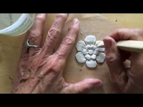 Artful Paper Clay Tutorial 1: How to Sculpt a Simple Flower