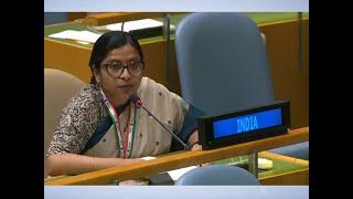 India responds to Imran Khan's speech & shames Pak at the UN