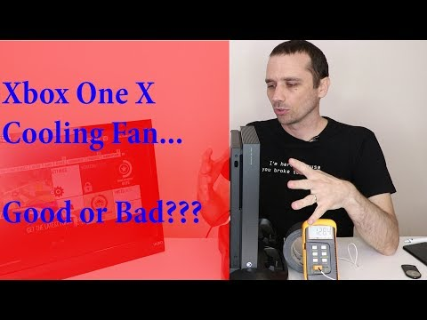 Xbox One X External Cooling Fan Test - Does it help or hurt???