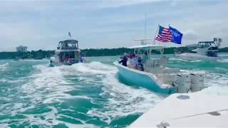 Clearwater, FL Trump Boat Parade 2020