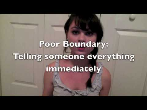 Healthy Relationships and Boundaries