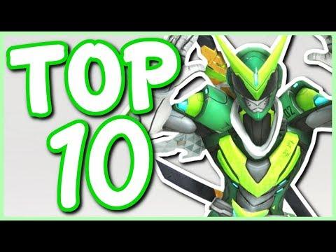 Overwatch - TOP 10 BEST DANCE EMOTES IN OVERWATCH