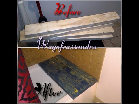 DIY BATH/SHOWER BENCH