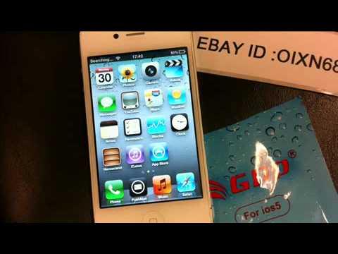 GPP R-SIM Turbo Sim Automatic Unlock For Apple iPhone 4S / IOS 5.1 ,5.01, 5.0