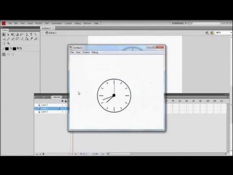 Make An Analog Clock in Flash