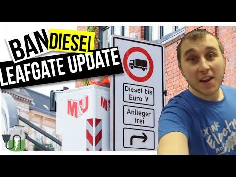Germany Diesel BAN! 2018 Leaf RapidGate Update? Special Vlog... 🔌🔋🚗