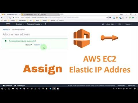How to Assign Elastic IP Address to EC2 Instances
