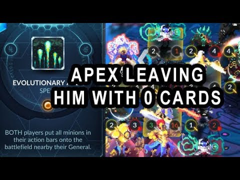 DUELYST Spicy Thunderhorn Apex Joined WomboCombo Leaving him with 0 Cards!