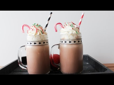 How To Make Hot Chocolate Milkshake - By One Kitchen Episode 348