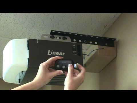 Programming a Linear Mega-Code Transmitter