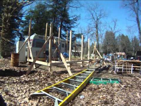 porch build time lapse