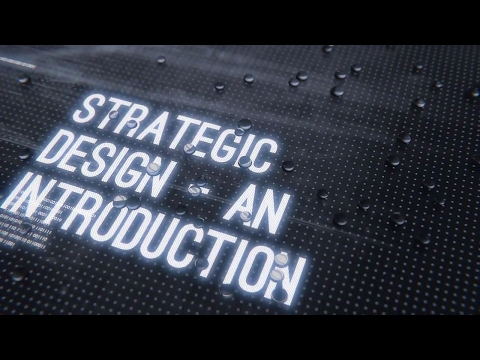Strategic Design - an introduction (Free online course)
