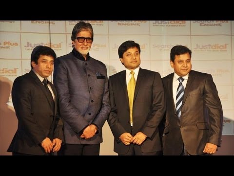 Amitabh Bachchan Launches Justdial Search Plus Engine