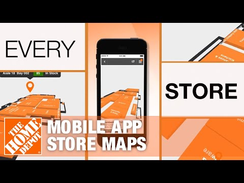 The Home Depot Mobile App - Store Maps