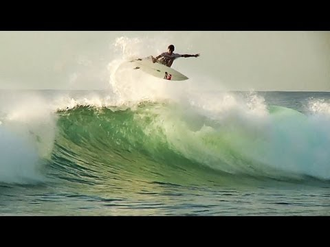 Jeremy Flores and Friends Surf Réunion, Avoid Sharks | The Watermen League, Ep. 1