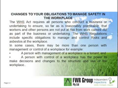 Workplace Health & Safety Audits Part 1 Sunshine Coast