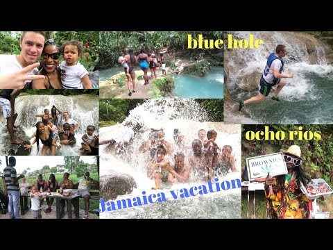 VLOG: JAMAICA VACATION || BLUE HOLE OCHO RIOS JAMAICA || MARIJUANA BROWNIES !?!