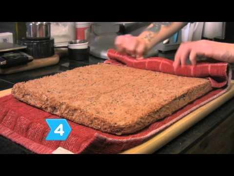 How to Make Football Ice Cream Cake