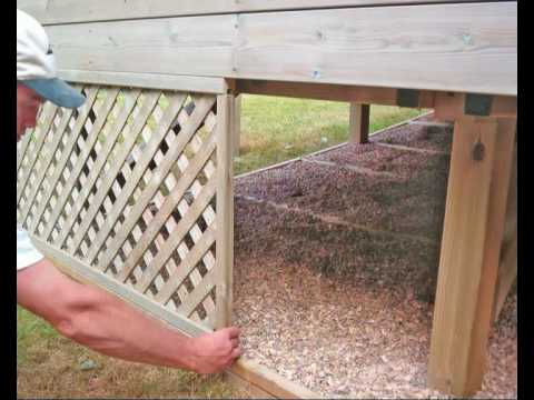How to Build a Deck. Part 09 - Finishing Touches. How to Build a Timber Deck with Q-Deck.