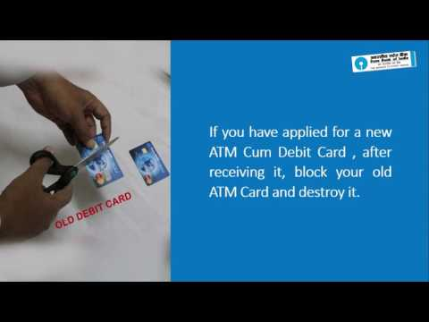 SBI: ATM Cum Debit Card Security (Video Created as on January 2017)