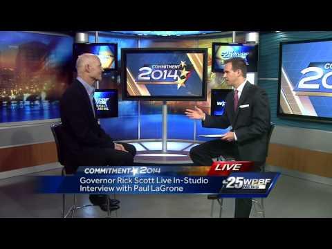 Gov. Scott riffs on budget, light-rail, medical marijuana