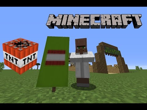 How to make a TNT Banner in Minecraft!