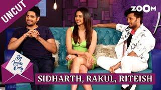 Sidharth Malhotra, Rakul Preet Singh and Riteish Deshmukh   By Invite Only   Episode 40   Marjaavaan