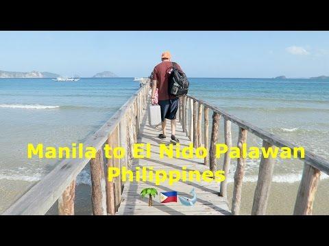 Manila to El Nido Palawan Philippines! //Sanchez Fun