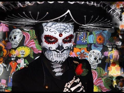 Mariachi Sugar Skull - Makeup Tutorial!