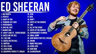 EdSheeran - Best Songs Collection 2021 - Greatest Hits Songs of All Time - Music Mix Playlist 2021