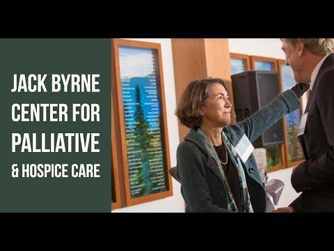 The Jack Byrne Center for Palliative & Hospice Care Dedication: November 4, 2017