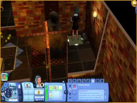 Sims 3- halls of lost army walkthrough