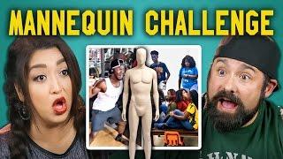 ADULTS REACT TO MANNEQUIN CHALLENGE COMPILATION #mannequinchallenge