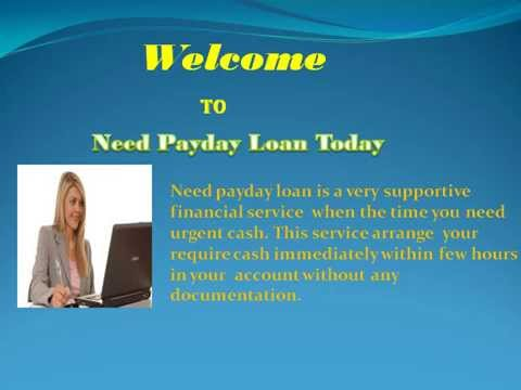 Need Payday Loan Today- Reasonable Financial Offer For Monetary Crisis